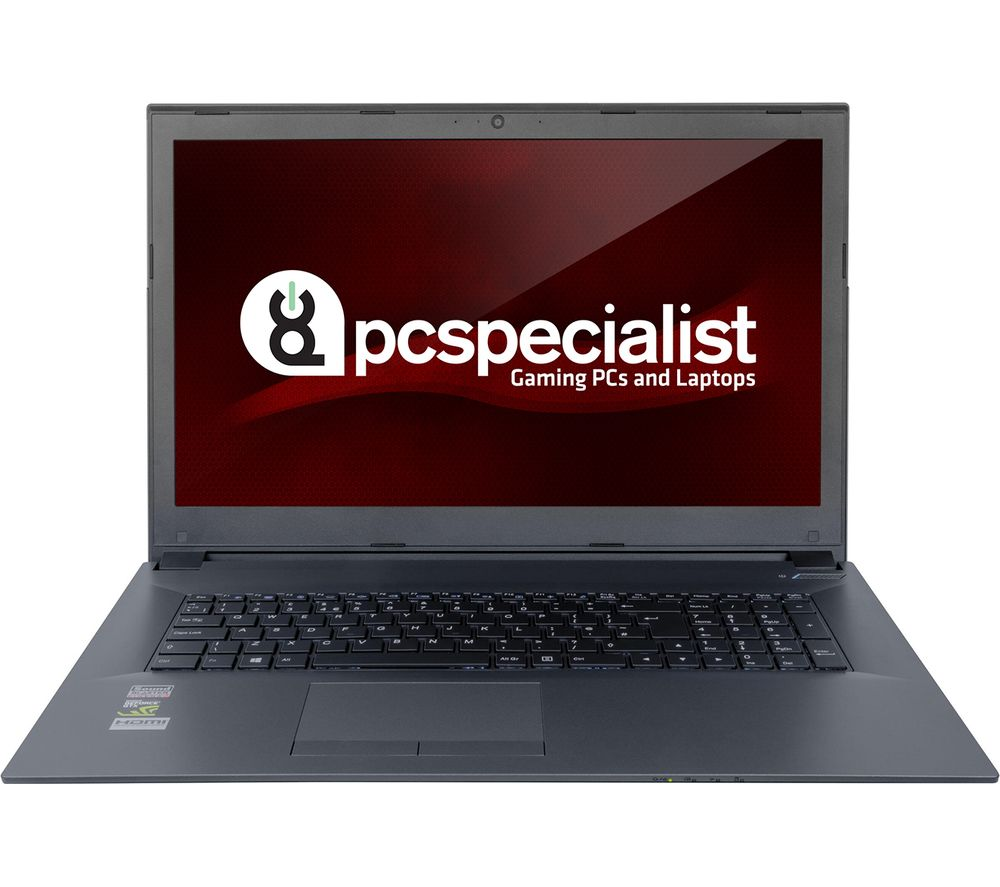 "PC SPECIALIST Optimus VIII RS17-XT 17.3"" Gaming Laptop - Black + Office 365 Personal"