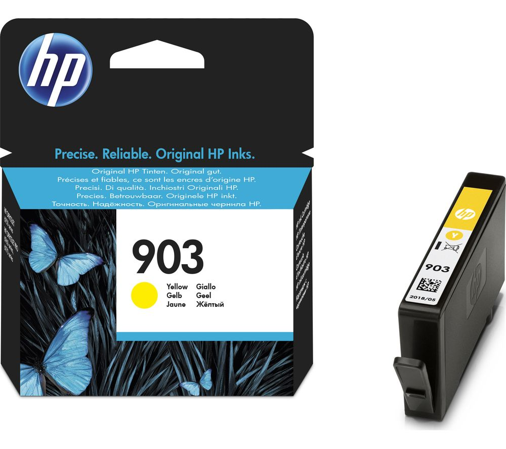 HP 903 Yellow Ink Cartridge Yellow
