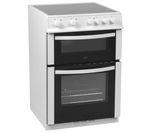 LOGIK LFTC60W12 Electric Ceramic Cooker - White