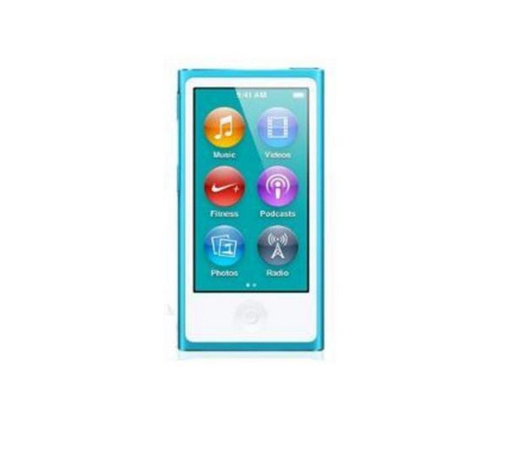 APPLE iPod nano - 16 GB, 7th Generation, Blue