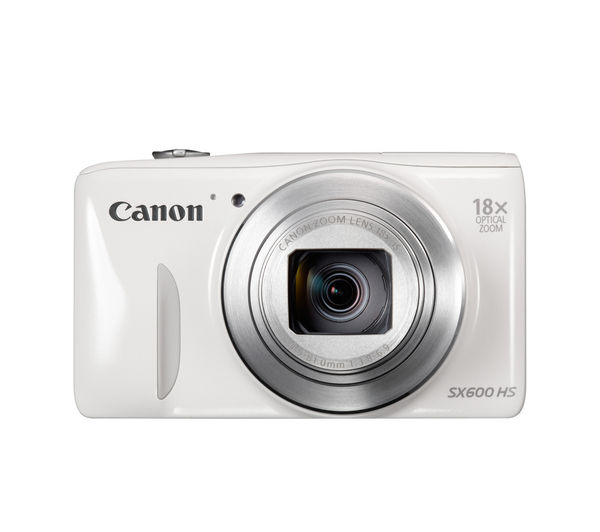 Buy CANON PowerShot SX600 HS Compact Digital Camera ...