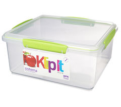 SISTEMA 61850 Rectangular 5-litre Food Storage Box