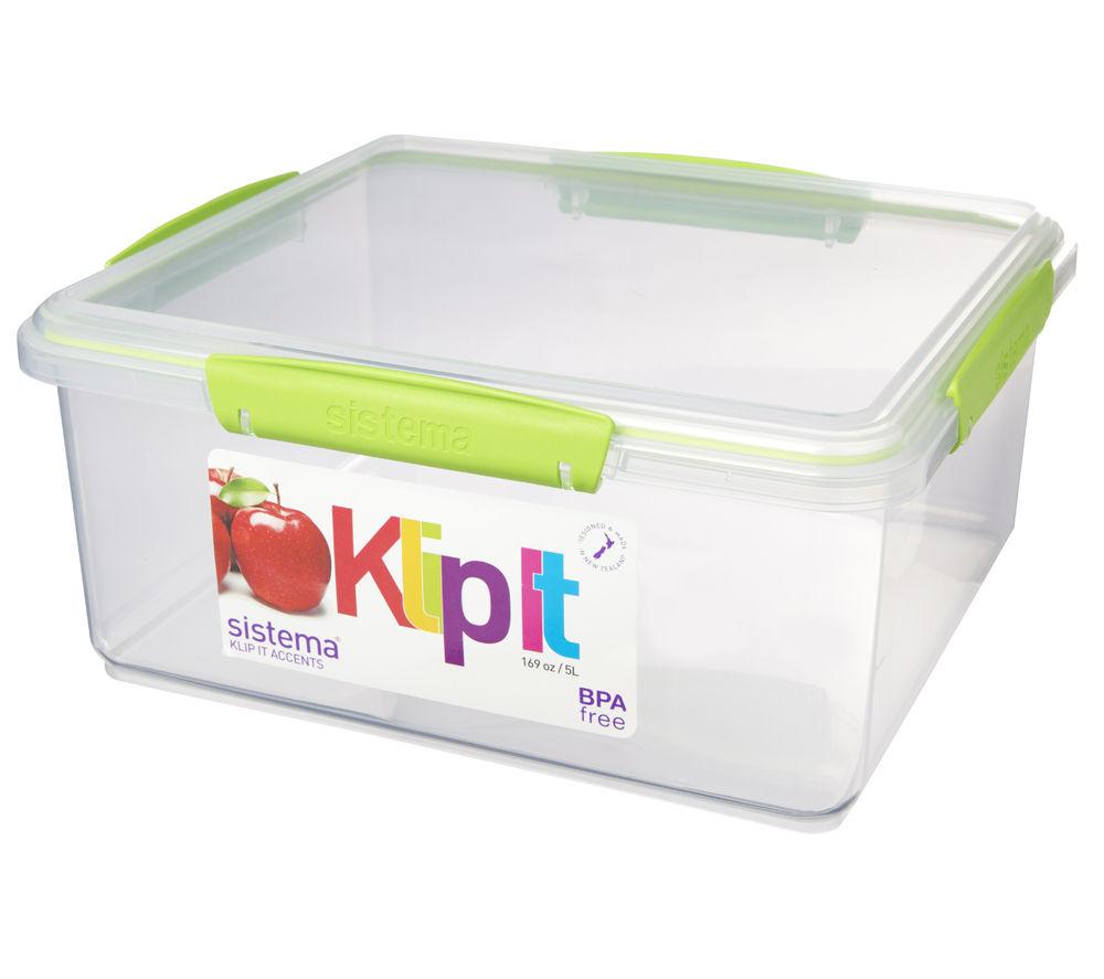 Image of SISTEMA 61850 Rectangular 5-litre Food Storage Box