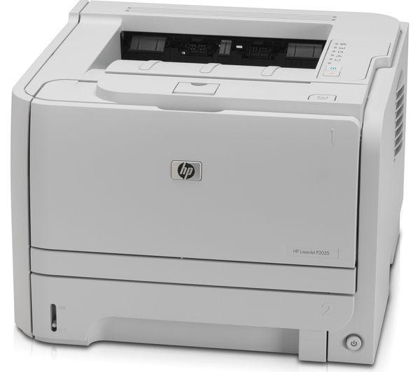 HP Laserjet P2035 Monochrome Laser Printer 05A Black