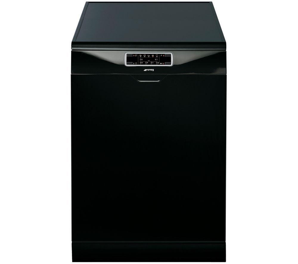 SMEG DFD6133BL Fullsize Dishwasher  Black Black