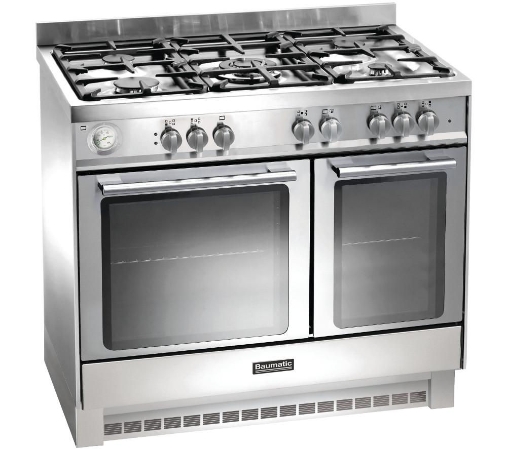 BAUMATIC  BCG925SS Gas Range Cooker  Stainless Steel Stainless Steel