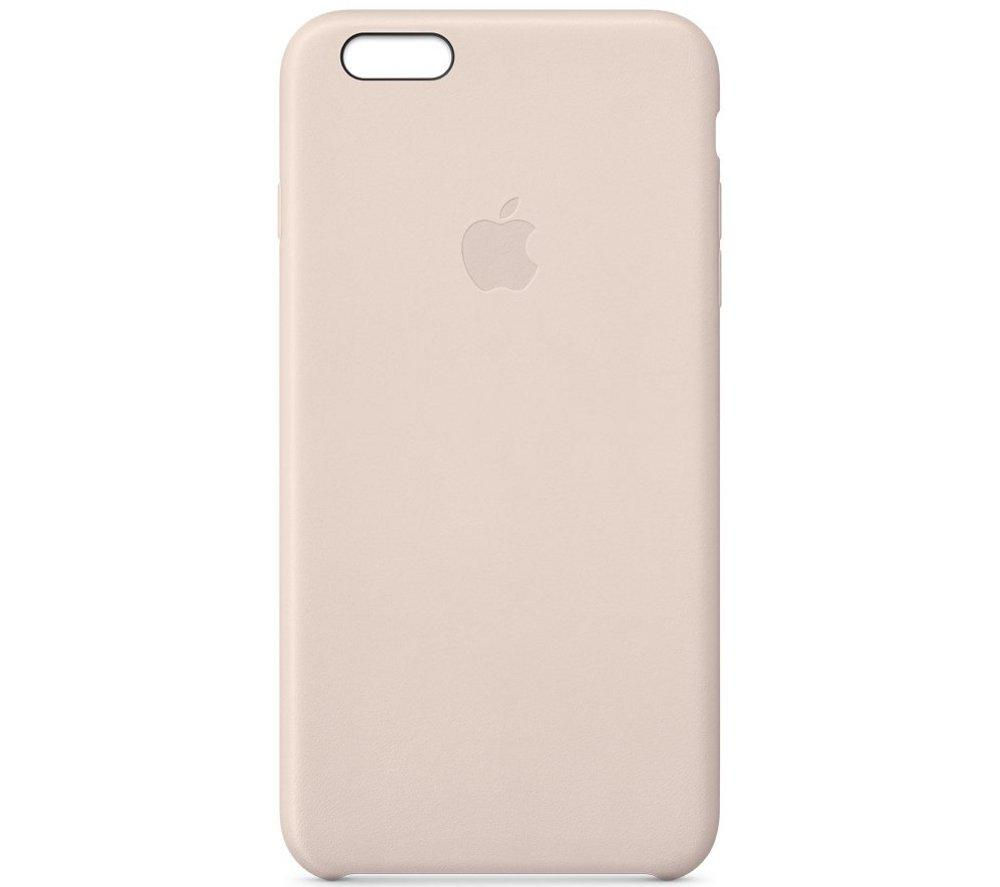 APPLE Leather iPhone 6 Plus Case - Pink