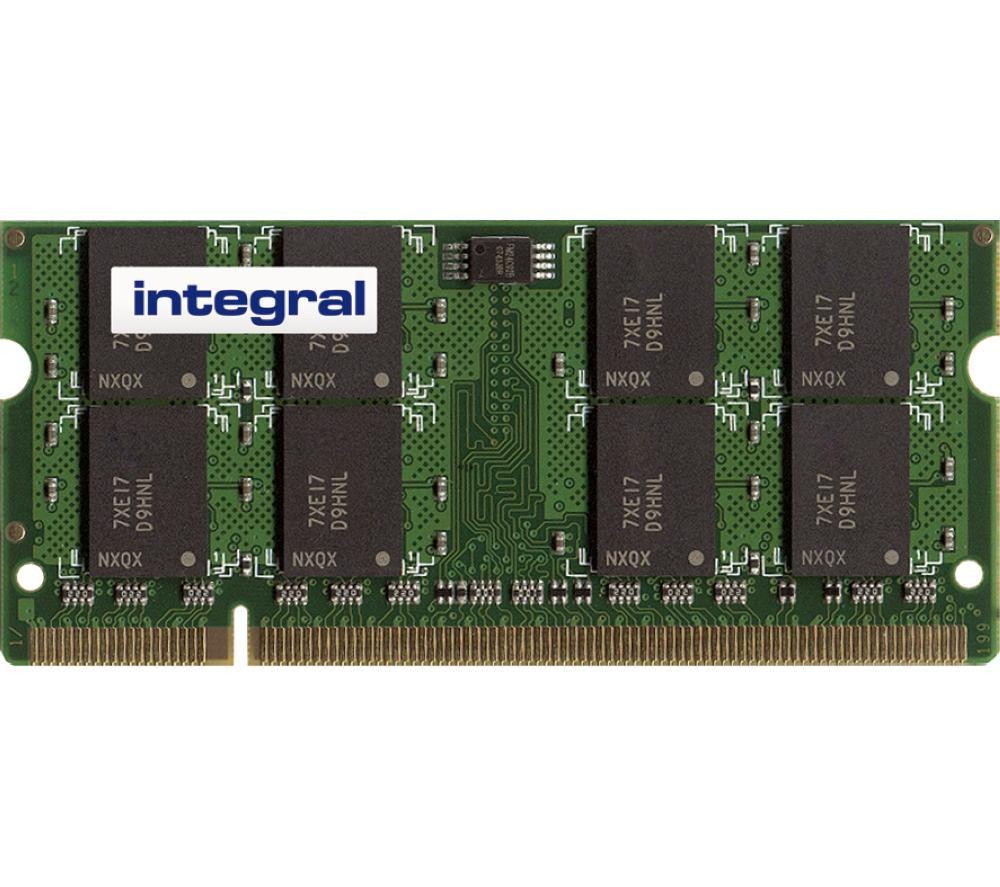 INTEGRAL PC2-5300 DDR2 Laptop Memory - 1 GB SODIMM RAM