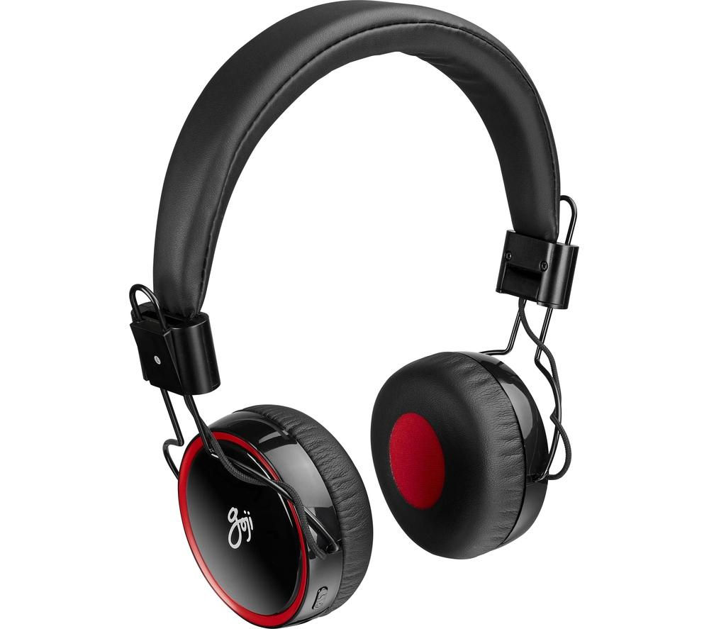 Click to view more of GOJI  GONBT15 Wireless Bluetooth Headphones - Black, Black