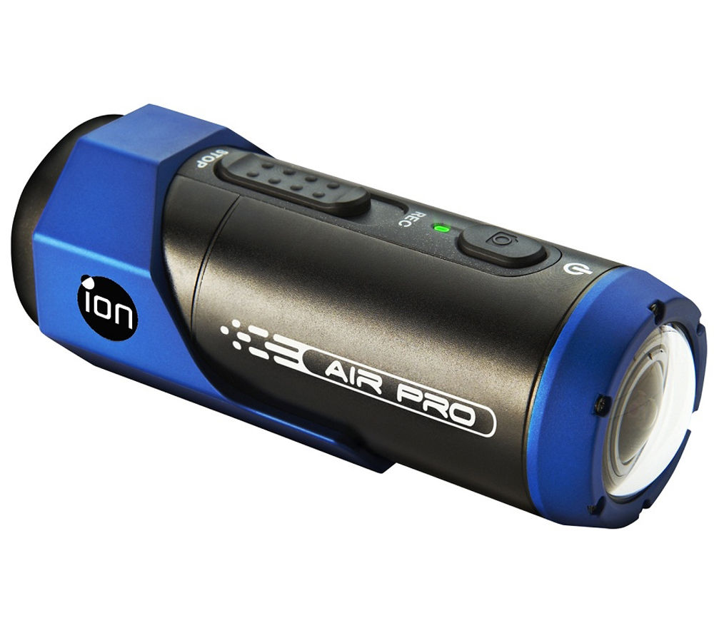 ION Air Pro Lite WiFi Action Camcorder - Black & Blue