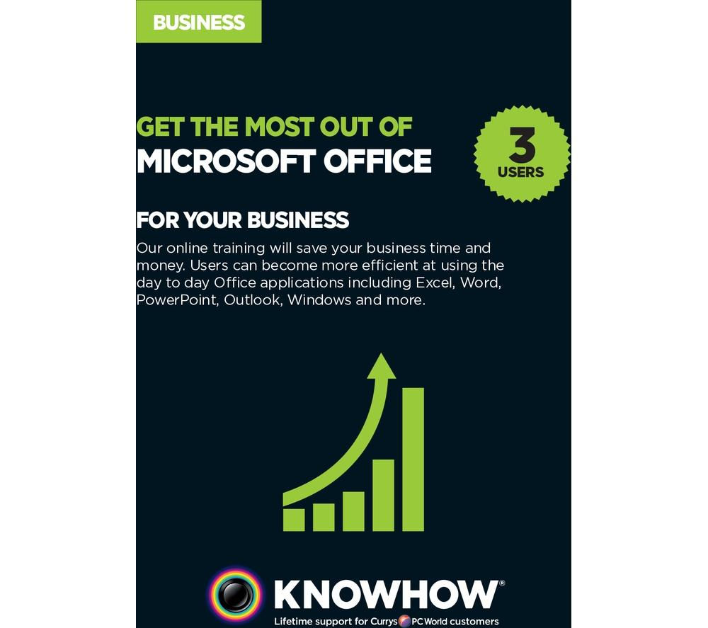 KNOWHOW eLearning - Microsoft Office for Business 3 users