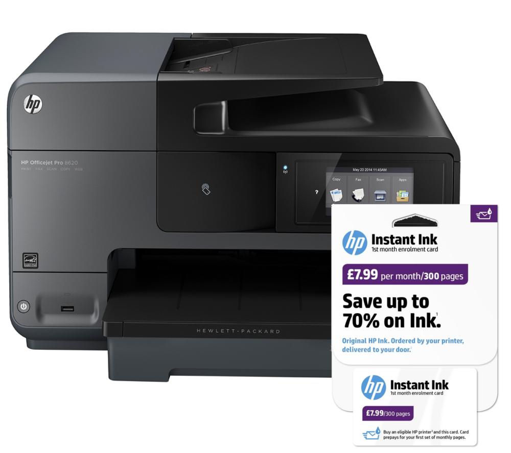 HP Officejet Pro 8620 All-in-One Printer With Fax