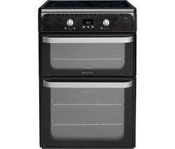 HOTPOINT Ultima HUI612K Electric Induction Cooker - Black