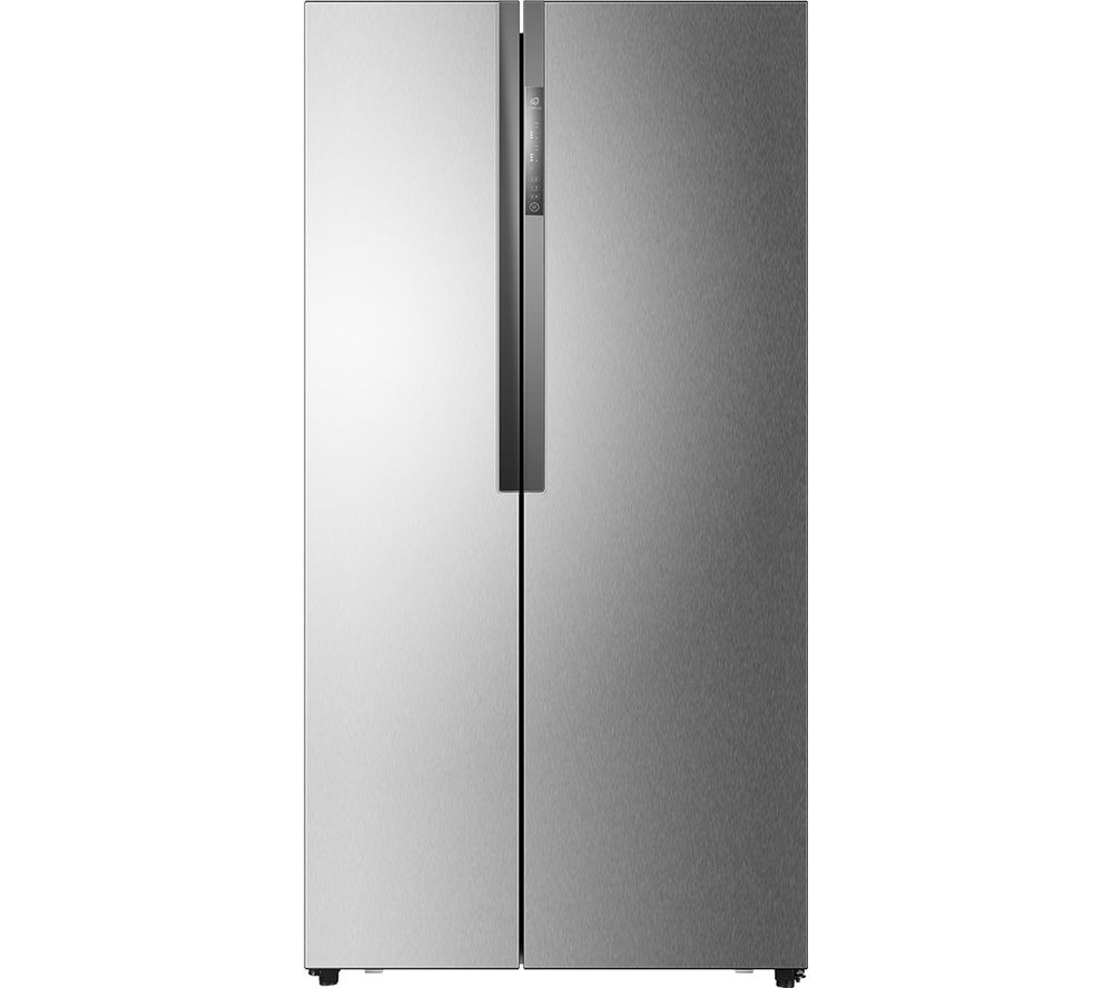 buy haier hrf 521dm6 american style fridge freezer stainless steel free delivery currys. Black Bedroom Furniture Sets. Home Design Ideas