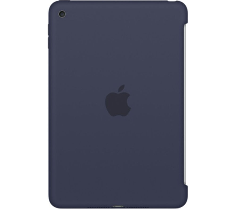 APPLE Silicone iPad Mini 4 Cover - Midnight Blue
