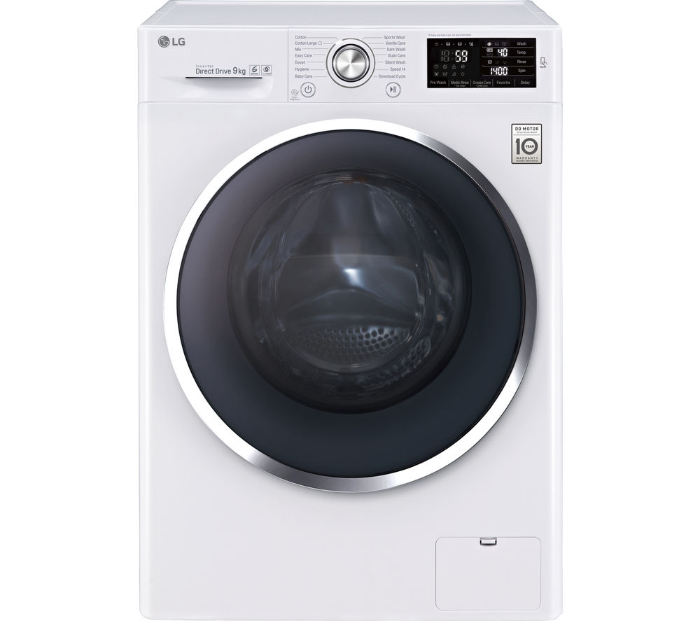 Lg Washing Machine ~ Buy lg fh u vcn washing machine white free delivery