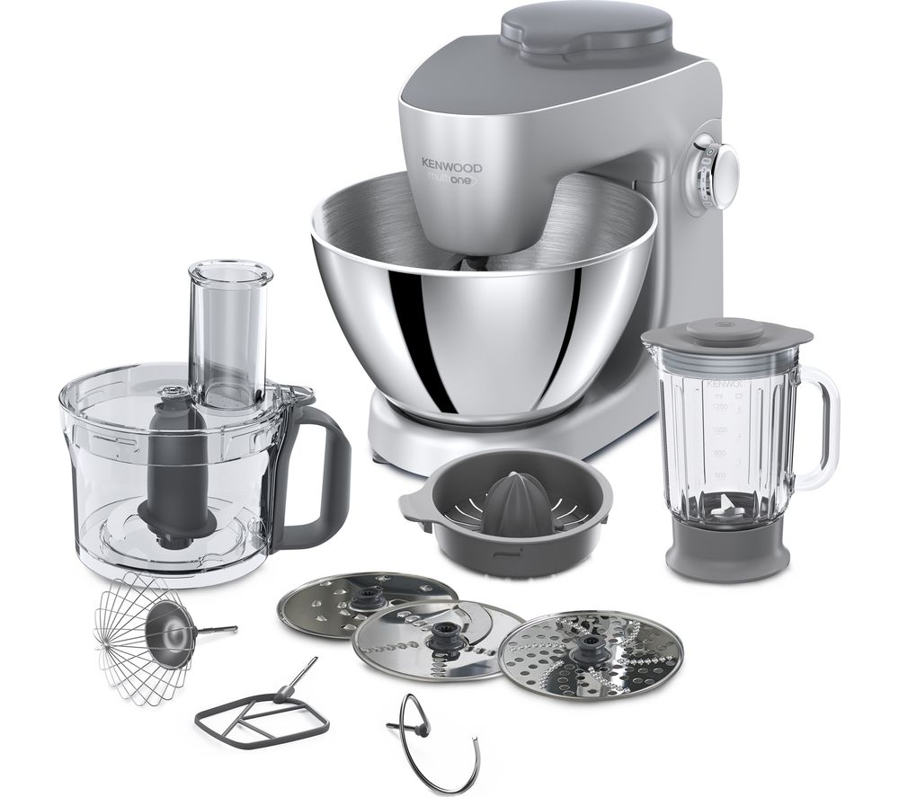 Currys Small Kitchen Appliances Buy Kenwood Multione Khh321si Stand Mixer Silver Free Delivery