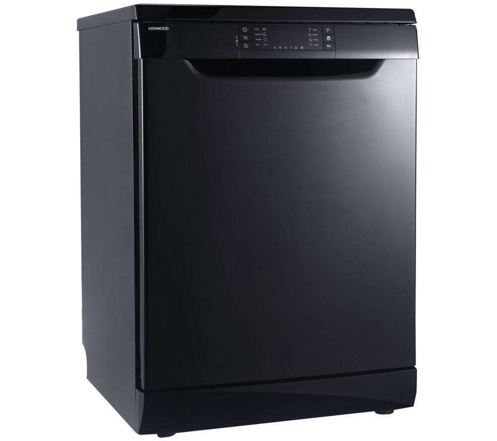 KENWOOD  KDW60B16 Fullsize Dishwasher  Black Black