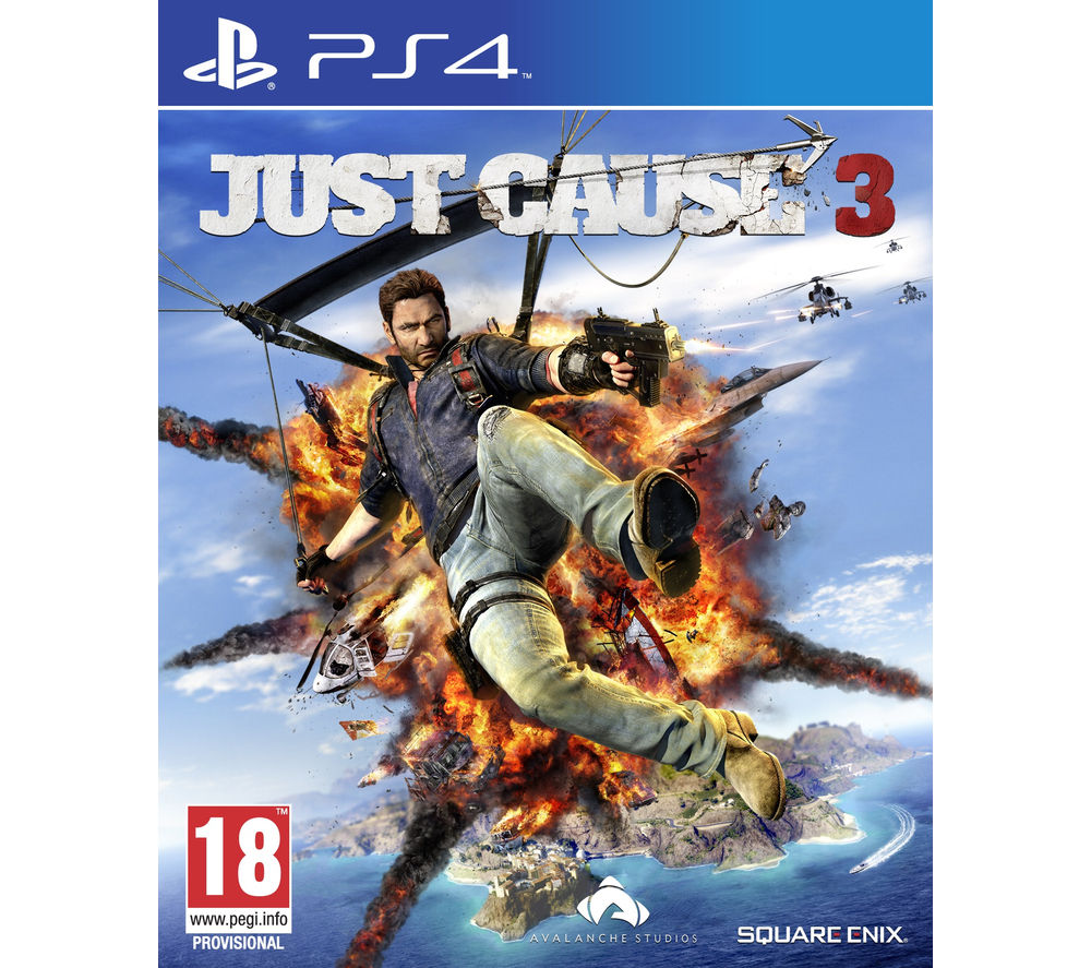 PLAYSTATION 4 Just Cause 3 - for PS4