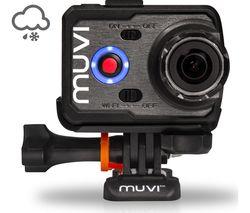 VEHO Muvi K-Series K-2 Sport Action Camcorder - Black