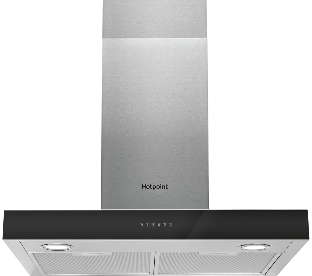 HOTPOINT  PHBS6.8FLTIX Chimney Cooker Hood  Stainless Steel Stainless Steel