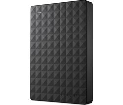 SEAGATE Expansion Portable Hard Drive - 4 TB, Black