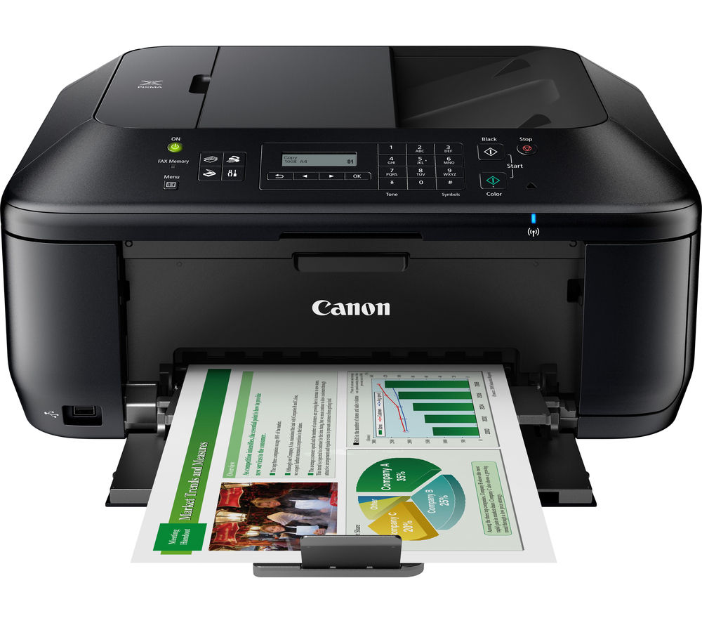 Printer: Buy CANON PIXMA MX535 All-in-One Wireless Inkjet Printer