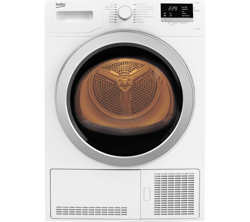 Tumble Dryer Uk ~ Buy beko dcx w condenser tumble dryer white free