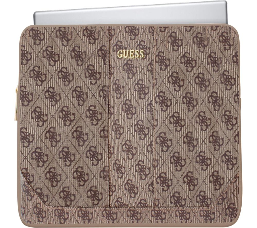 "GUESS Uptown 11"" Laptop Sleeve - Brown"