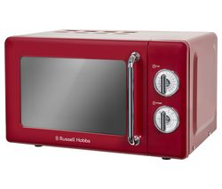 RUSSELL HOBBS RHRETMM705R Solo Microwave - Red