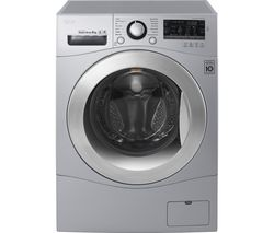 LG FH4A8TDN4 Smart Washing Machine - Silver
