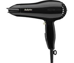 BABYLISS Powerlight 2000 Hair Dryer - Black