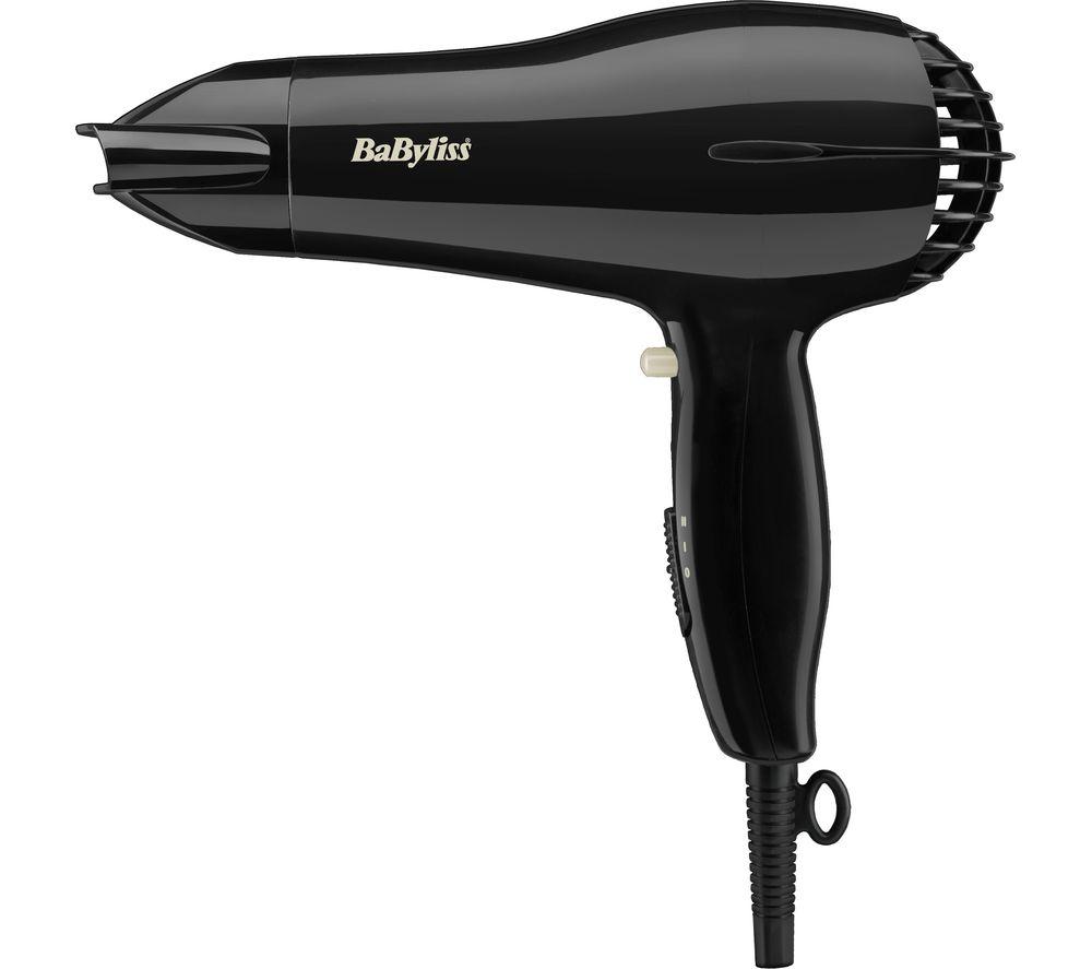 BABYLISS  Powerlight 2000 Hair Dryer  Black Black