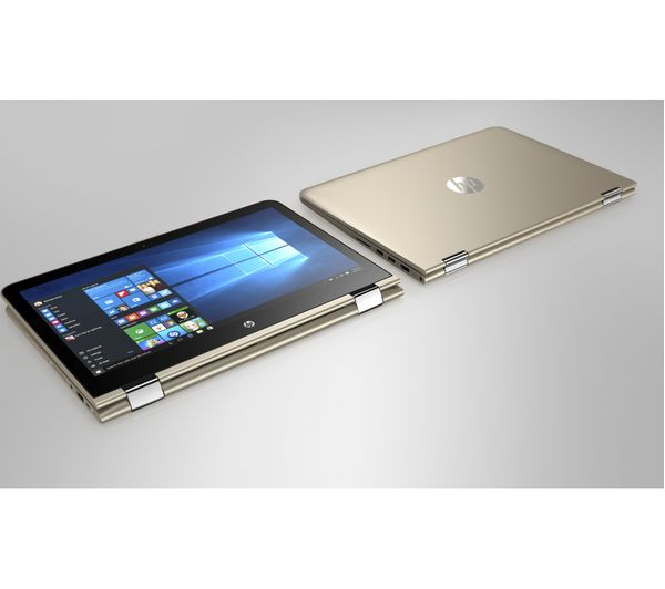 buy hp pavilion x360 2 in 1 gold free delivery currys. Black Bedroom Furniture Sets. Home Design Ideas