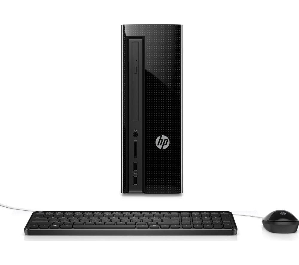 HP Slimline 260-a160na Desktop PC + Office 365 Personal + LiveSafe Unlimited 2017 - 1 year
