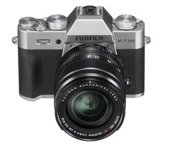 FUJIFILM X-T20 Mirrorless Camera with 18-55 mm f/2.8-4 Lens - Silver