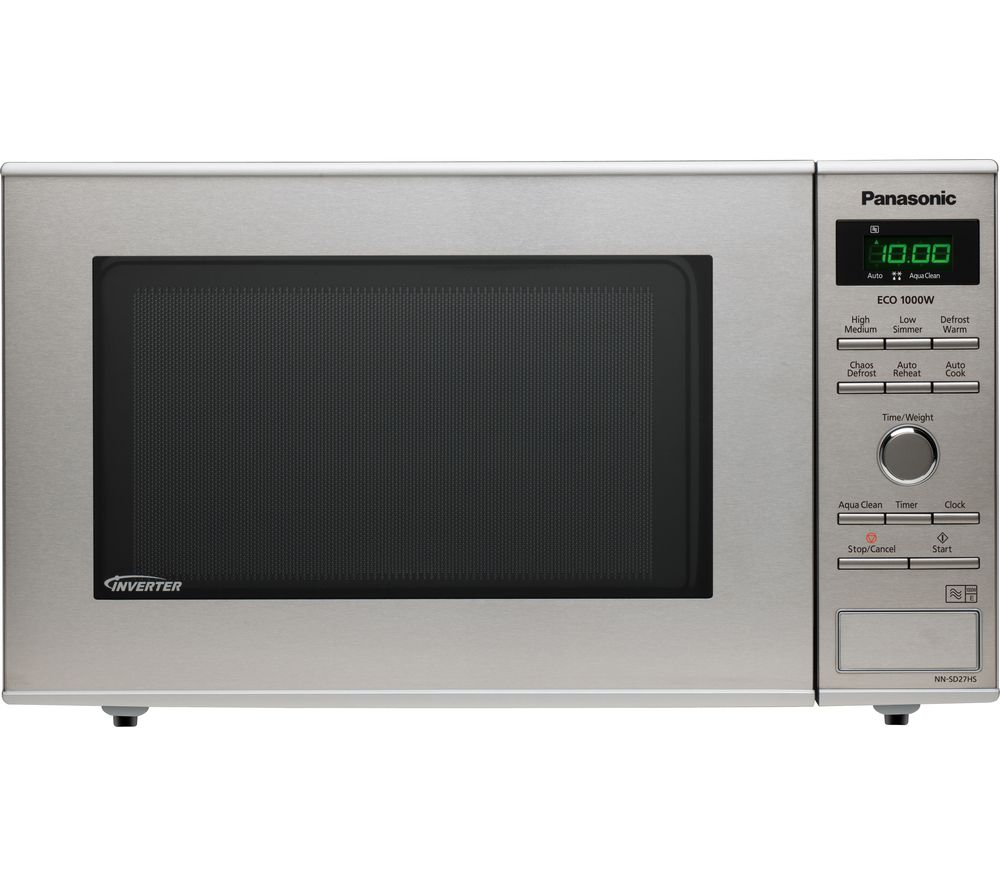 PANASONIC NNSD27HSBPQ Solo Microwave  Stainless Steel Stainless Steel