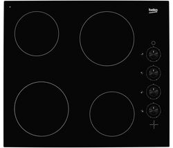 BEKO HIC64102 Ceramic Hob - Black