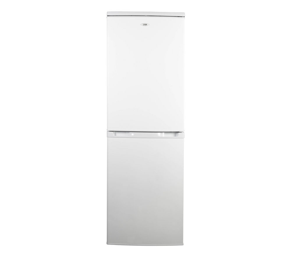 LOGIK  LFC50W12 Fridge Freezer - White +  Select DSX83410W Heat Pump Tumble Dryer - White
