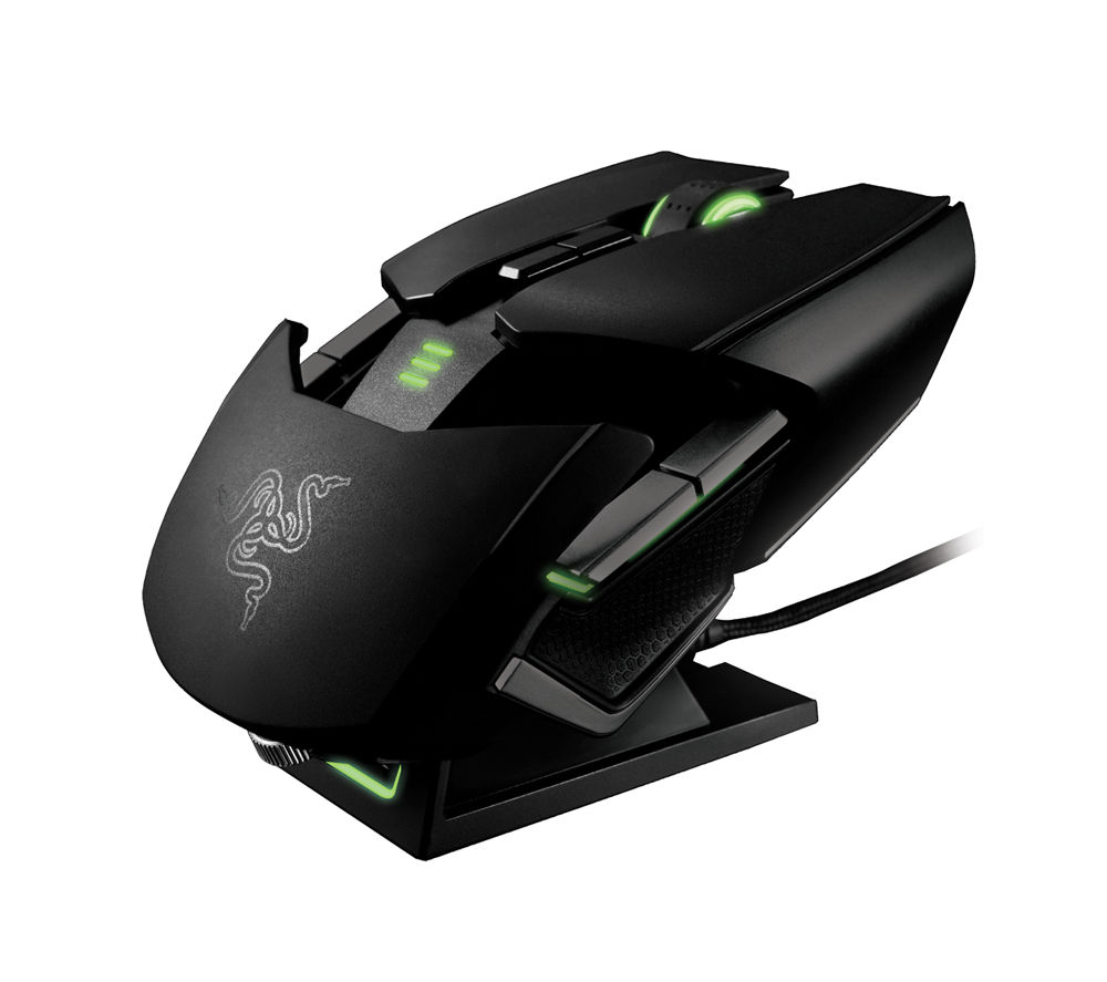RAZER Ouroboros Elite Wireless Dual Tracking Gaming Mouse