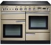 RANGEMASTER Professional+ 110 Electric Induction Range Cooker - Cream & Chrome