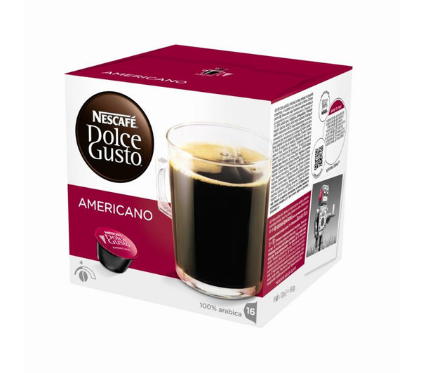 Buy NESCAFE Dolce Gusto Americano - Pack of 16 Free Delivery Currys