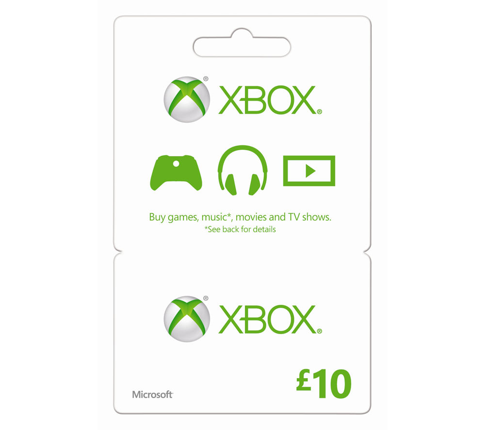 xbox gift cards code