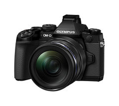 OLYMPUS OM-D E-M1 Compact System Camera with 12-40 mm f/2.8 Zoom Lens