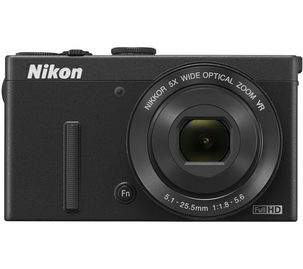 NIKON COOLPIX P340 High Performance Compact Camera - Black