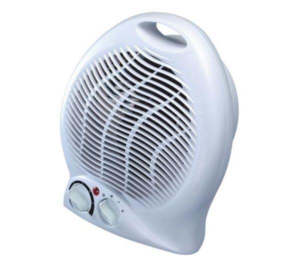 Essential C20FHW10 Fan Heater White