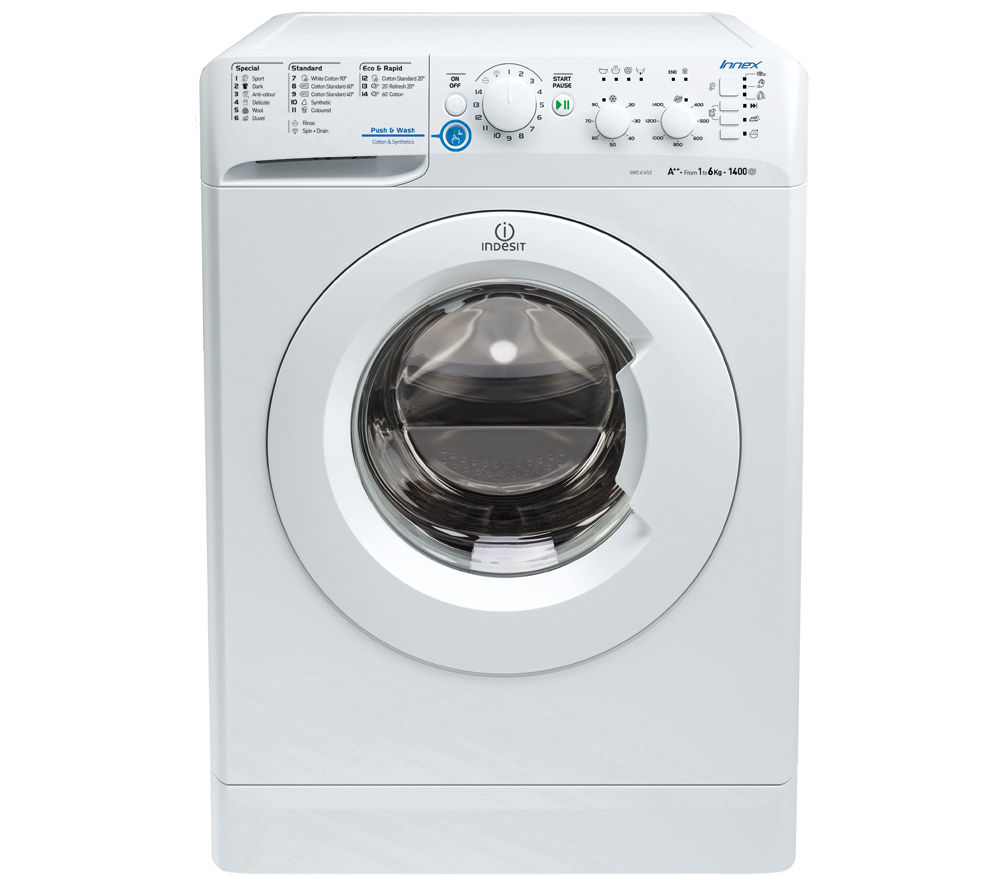 This All-In-One Combo Compact washer dryer includes various This All-In-One Combo Compact washer dryer includes various innovative features like auto water level and sensor dry to take the hassle out of laundry duty.