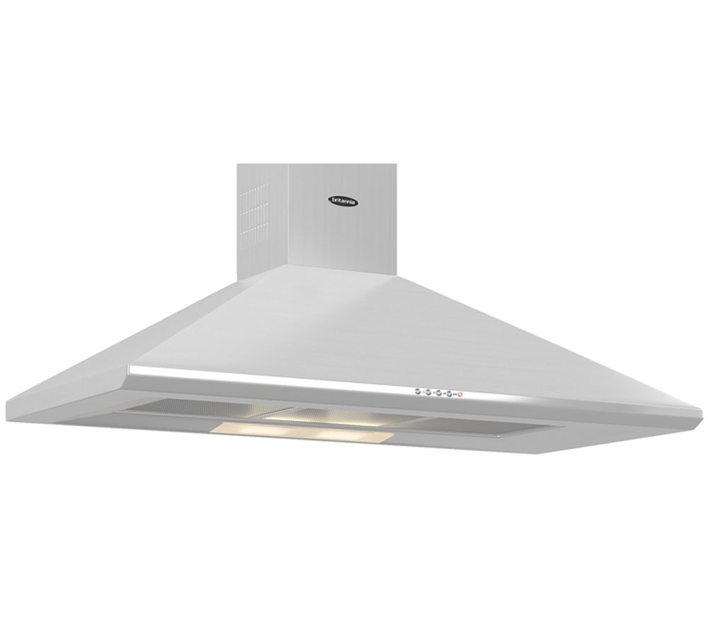 BRITANNIA  Brioso K24010S Chimney Cooker Hood  Stainless Steel Stainless Steel