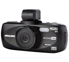 NEXTBASE iNCarCam 402G Full HD Dashboard Camera - Black