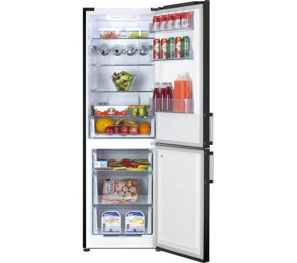 Buy Kenwood Kfc60b15 Fridge Freezer Black Free